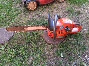 husqvarna 455 rancher chain firm price must pick up at the store for Sale in Burlington, NC