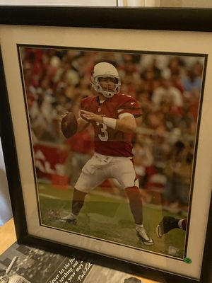 Arizona Cardinals Carson Palmer Framed Picture / Post for Sale in Mesa, AZ