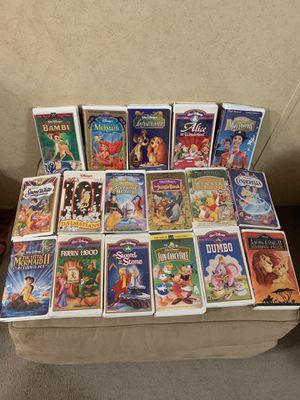 Disney vhs tapes in great shape for Sale in Pinehurst, TX