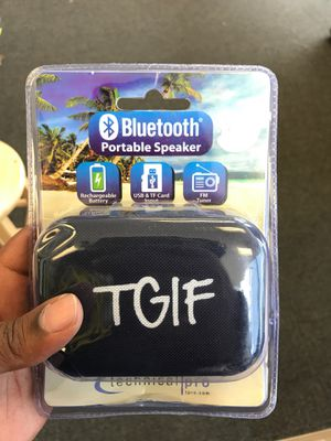 Technical pro Bluetooth speaker for Sale in Trenton, NJ