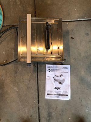 Skil saw tile cutter for Sale in Livermore, CA
