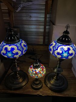 Handmade mosaic lamp for Sale in Prattville,  AL
