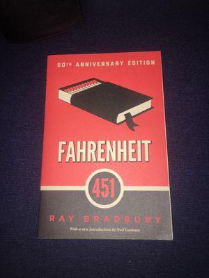 Fahrenheit 451 by Ray Bradbury for Sale in Dallas, TX