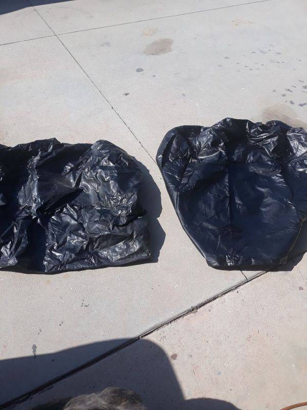 2 Travel trailer propane protection covers