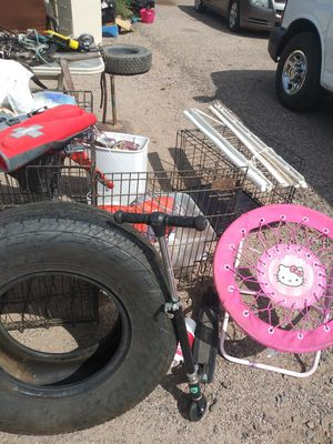 Hello kitty ball bouncer or chair for Sale in Apache Junction, AZ