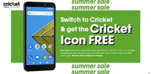 Cricket Icon Smartphone for Sale in Fairmont, WV