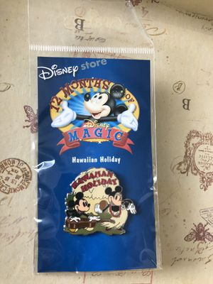 2002 Disney Store 12 Months of Magic, Hawaiian Holiday Disney Trading Pin for Sale in Wheaton, IL