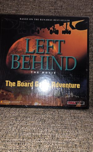 Left Behind ( The Movie) The Board Game Adventure. Please see all the pictures and read the description for Sale in Falls Church, VA