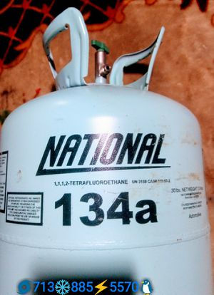 Premium Freon DUPONT National 134a 30 pounds cylinder jug Brand New for Sale in Houston, TX