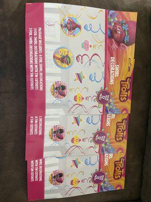 Girl birthday party decor/supplies for Sale in Maricopa, AZ