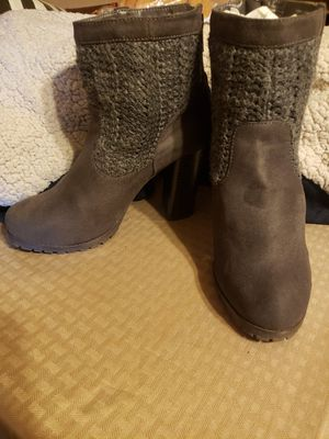 Dark charcoal boots for Sale in Fresno, CA