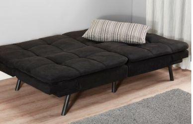 Memory foam futon sofa - Black for Sale in Franklin,  TN