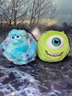 Ty Beanie Ballz Monsters Inc Sully & Mike Wazowski for Sale in Bellflower, CA