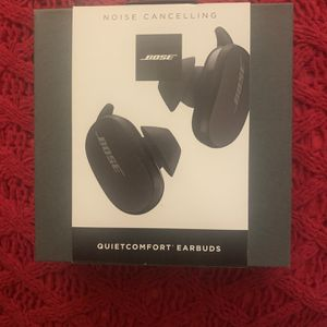 BOSE QUIETCOMFORT EARBUDS NOISE CANCELLING BLACK-BRAND NEW for Sale in Tracy, CA