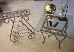 Coffee Table Wine Rack Set for Sale in Germantown, MD