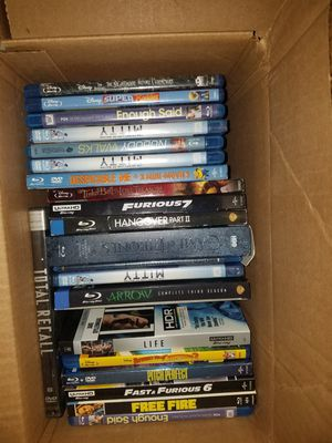 Blu-ray and DVD for sale for Sale in Colton, CA