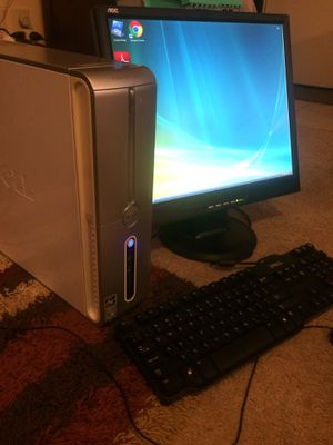 """Dell Inspiron 531S PC with 19""""Monitor, Memory, HD, Fully Functional all cords ,mouse , keyboard ,factory disks and it works great. $40...firm for Sale in Cincinnati, OH"""