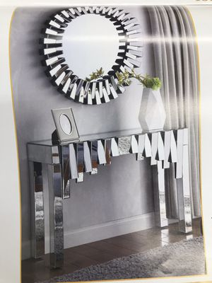 Console Table & Wall Mirror for Sale in Queens, NY