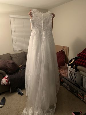 Wedding dress Size 16 for Sale in Mobile, AZ