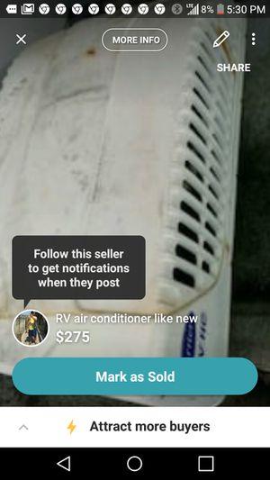 Air conditioner for RV for Sale in Denham Springs, LA
