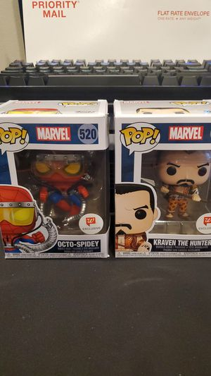 Kraven and Octo-spidey Walgreens pops for Sale in Lake Worth, FL