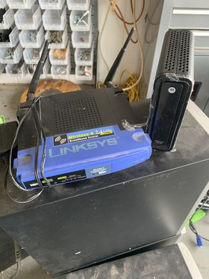 Wifi Router and Cable Modem for Sale in Mesa, AZ