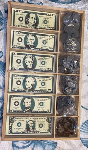 Play money set for Sale in Andover, KS