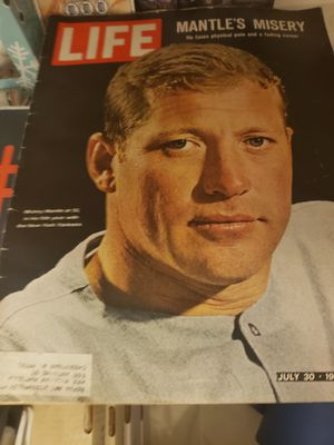 Mickey Mantle life magazine for Sale in Arvada, CO