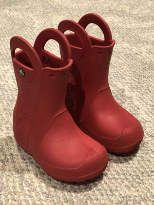 Croc boots size c 8 for Sale in Portland, OR