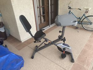 ExerWork Collapsable Fold-up Bike with wheels. for Sale in Chandler, AZ