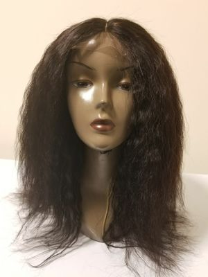 14 Brazilian human hair kinky straight customized wig for Sale in Washington, DC