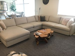 Bassett customized sectional couch for Sale in Irvine, CA