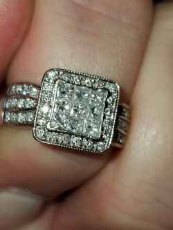 14k White Gold Diamond Engagement Ring for Sale in Pensacola,  FL