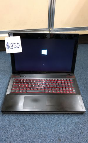 Lenovo gamer computer laptop I7 320gb hard drive 8gb ram for Sale in Brentwood, MD