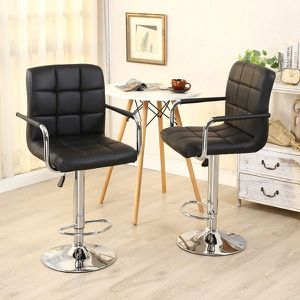 2 PCS Swivel Adjustable PU Leather for Sale in Katy, TX