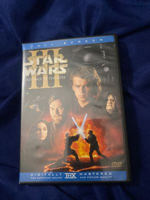 Star Wars Revenge Of The Sith DVD for Sale in Brooklyn, NY
