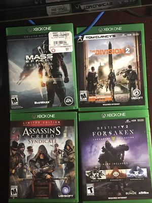 Xbox One Games for Sale in Santa Ana, CA