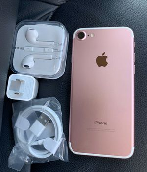 iPhone 7, 128GB - just like new, factory unlocked, clean IMEI, clear iCloud for Sale in Springfield, VA