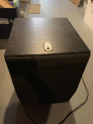 JBL Northridge E250 subwoofer for Sale in Middleburg Heights, OH