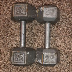 25 Pound Dumbbells for Sale in Rialto,  CA
