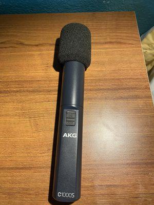 AKG C1000 Studio Condenser Microphone for Sale in Dallas, TX
