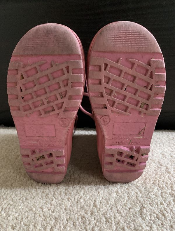 Toddler Rain boots Size 10