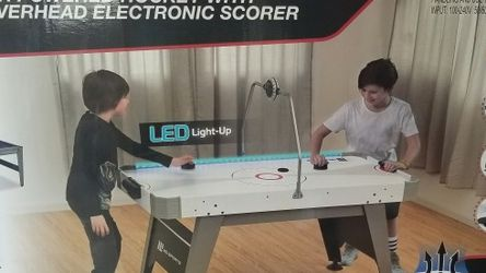 Brand New! Sports 60 inch Air Powered Hockey Table with Overhead LED Electronic Scorer for Sale in Lynwood,  CA