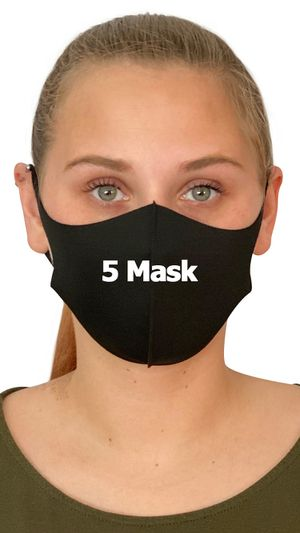 "5 FACE MASK ""REUSABLE.."" for Sale in Silver Spring, MD"