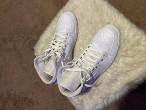 Jordan 1 all white for Sale in Chesterfield, VA