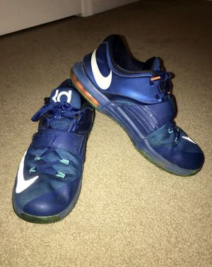Nike KD 7's Gym Blue for Sale in Frederick, MD
