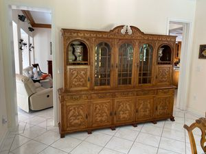 Antique Italian China Cabinet - Located in Cocoplum for Sale in Miami, FL