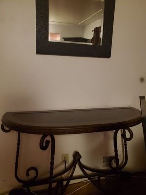 Coffee table, side table and mirror for Sale in Westminster, CO