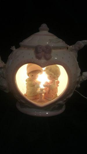 Vintage Precious Moments Teapot Lamp for Sale in San Antonio, TX
