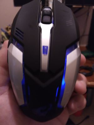 Rechargeable,usb wireless,LED multiple light,gaming mouse for Sale in Grand Prairie, TX